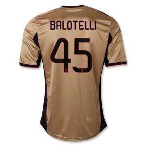 Camiseta de AC Milan 2013/2014 Tercera Balotelli Equipacion