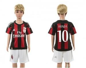 Camiseta AC Milan 10 2015/2016 Ni?os