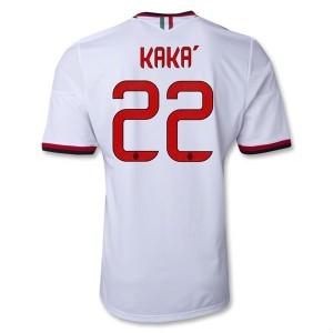 Camiseta nueva AC Milan Kaka Equipacion Segunda 2013/2014