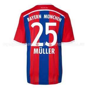 Camiseta nueva del Bayern Munich 2014/2015 Equipacion Muller Primera