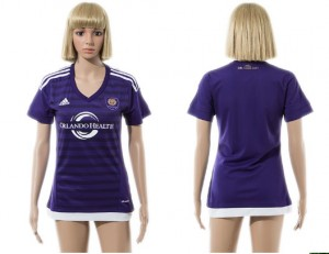 Camiseta nueva Orlando City SC Mujer 2015/2016