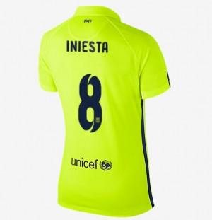 Mujer Camiseta del Barcelona Tercera Equipacion 2013/2014
