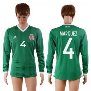 Camiseta Mexico 4# 2016-2017
