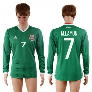Camiseta del 7# Mexico 2016-2017