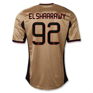 Camiseta nueva AC Milan El Shaarawy Equipacion Tercera 2013/2014