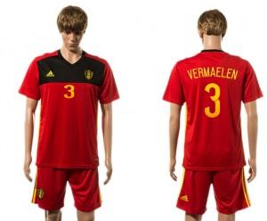 Camiseta del 3# Belgium 2015-2016