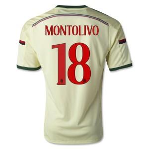 Camiseta AC Milan Montolivo Tercera Equipacion 2014/2015