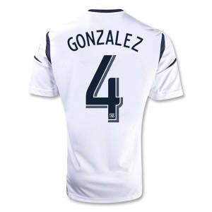 Camiseta nueva Los Angeles Galaxy Gonzalez Primera 2013/2014