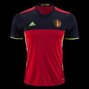 Camiseta del Belgium Primera Equipacion 2016