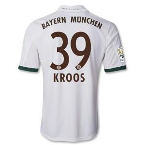 Camiseta nueva del Bayern Munich 2013/2014 Equipacion Kroos Tercera