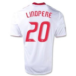 Camiseta nueva del Red Bulls 2013/2014 Equipacion Lindpere Primera