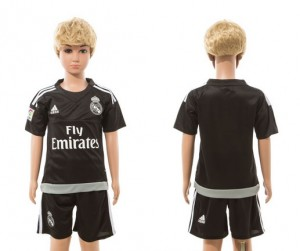 Camiseta nueva del Real Madrid 2015/2016 goalkeeper Ni?os