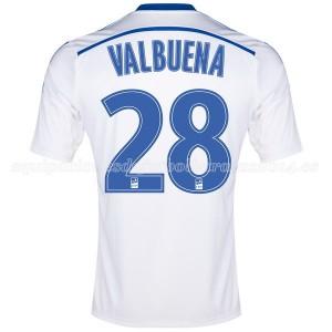 Camiseta nueva Marseille Valbuena Primera 2014/2015