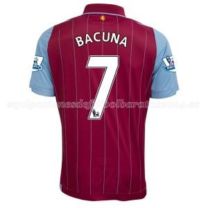 Camiseta nueva Aston Villa Bacuna Equipacion Primera 2014/15