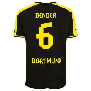 Camiseta nueva Borussia Dortmund Bender Segunda 2013/2014