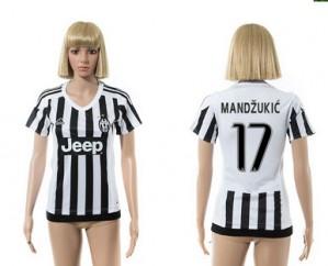 Camiseta de Juventus 2015/2016 17 Mujer