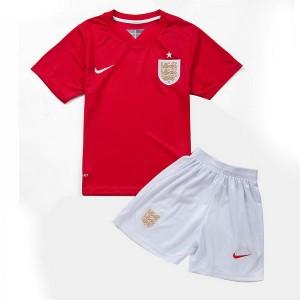 Nino Camiseta del Inglaterra de la Seleccion Segunda WC2014
