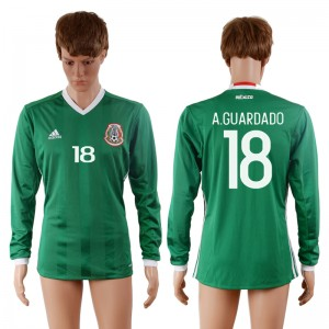 Camiseta nueva Mexico 18# 2016-2017