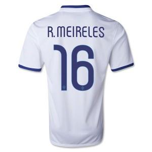 Camiseta nueva del Portugal de la Seleccion 2013/2014 R.Meireles Segunda