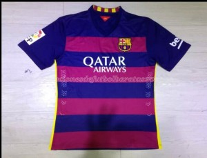 Camiseta de Barcelona 15/16 Primera Tailandia