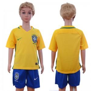 Camiseta nueva Brasil Niños 2016/2017