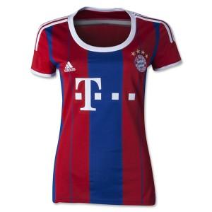 Mujer Camiseta del Bayern Munich Segunda Equipacion 2014/2015