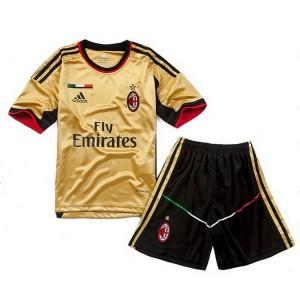 Camiseta nueva del AC Milan 2013/2014 Equipacion Nino Tercera