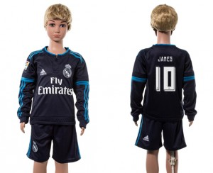 Camiseta nueva del Real Madrid 2015/2016 Manga Larga 10# Ni?os