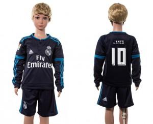 Camiseta nueva del Real Madrid 2015/2016 Manga Larga 10# Ni?os