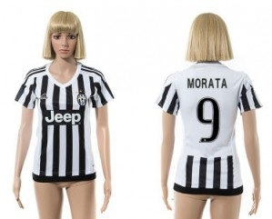 Camiseta nueva Juventus Mujer 9 2015/2016