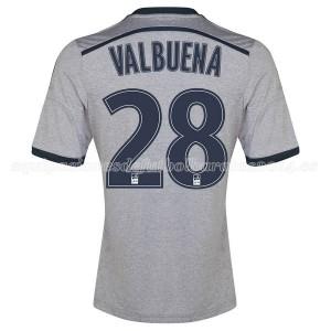 Camiseta nueva del Marseille 2014/2015 Valbuena Segunda