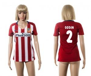 Camiseta nueva del Atletico Madrid 2015/2016 2 Mujer