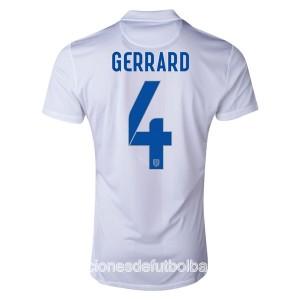Camiseta de Inglaterra de la Seleccion WC2014 Primera Gerrard