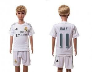 Camiseta Real Madrid 11 Home 2015/2016 Ni?os