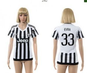 Mujer Camiseta del 33 Juventus 2015/2016