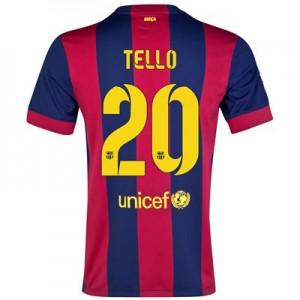 Camiseta del TELLO Barcelona Primera Equipacion 2014/2015