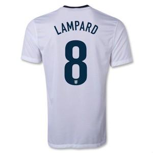 Camiseta Inglaterra de la Seleccion Lampard Primera 2013/2014
