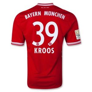 Camiseta Bayern Munich Kroos Primera Equipacion 2013/2014