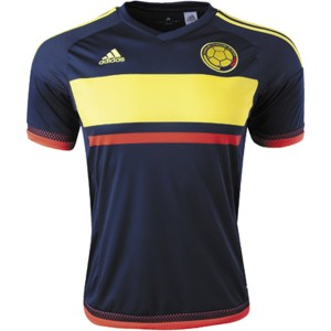 Camiseta Colombia Away 2016