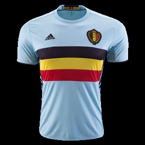 Camiseta de Belgium 2016 Segunda Equipacion