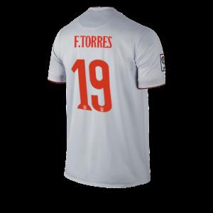 Camiseta nueva Atletico Madrid TORRES Equipacion Segunda 2014/2015