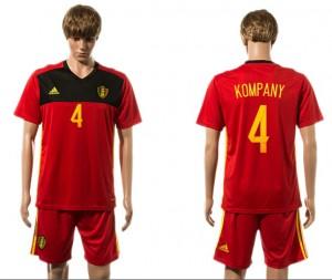 Camiseta del 4# Belgium 2015-2016