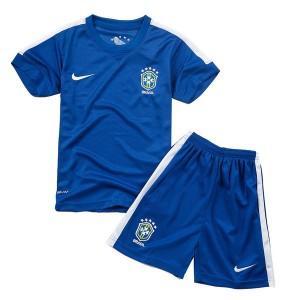 Camiseta nueva del Brasil de la Seleccion WC2014 Nino Segunda