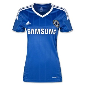 Mujer Camiseta del Chelsea Primera Equipacion 2013/2014