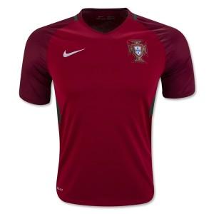 Camiseta nueva del Portugal 2016 Equipacion Primera
