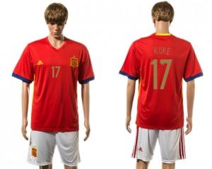 Camiseta España 17# 2015-2016