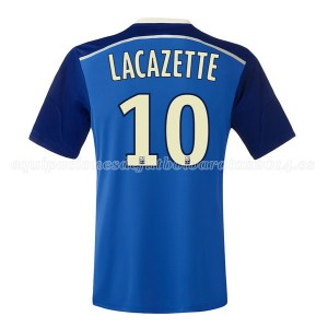Camiseta de Lyon 2014/2015 Segunda Lacazette
