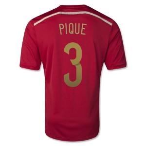 Camiseta Barcelona Pique Primera 2013/2014