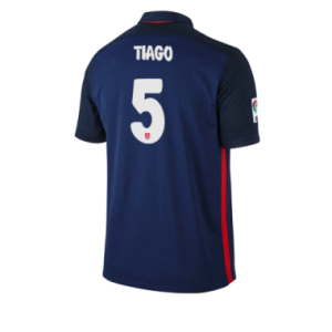 Camiseta de Atletico Madrid 2015/2016 Segunda TIAGO Equipacion