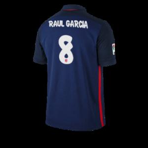 Camiseta nueva Atletico Madrid RAUL GARCIA Equipacion Segunda 2015/2016